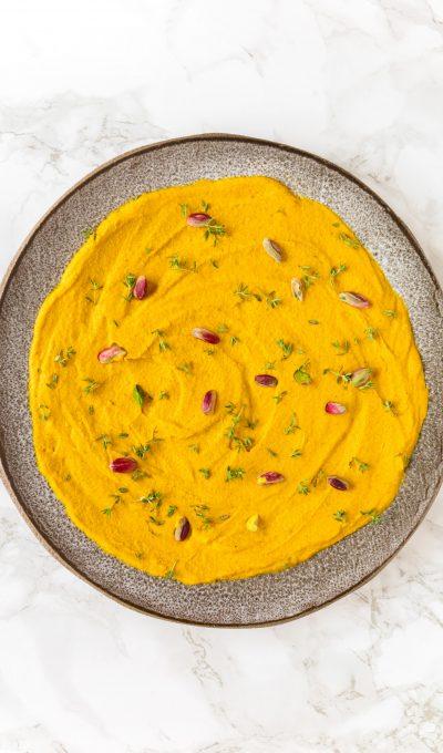 Hummus met wortel